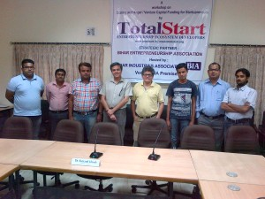 TotalStart Bihar Innovation & Incubation Unit Initiative – Workshop on Scaling & Funding for Micro or Small Scalable Enterprises