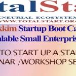 TotalStart Sikkim StartUp BootCamp 2015 Banner