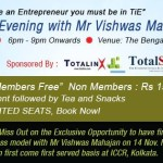 TotalStart sponsored TiE Kolkata Event Nov 2013