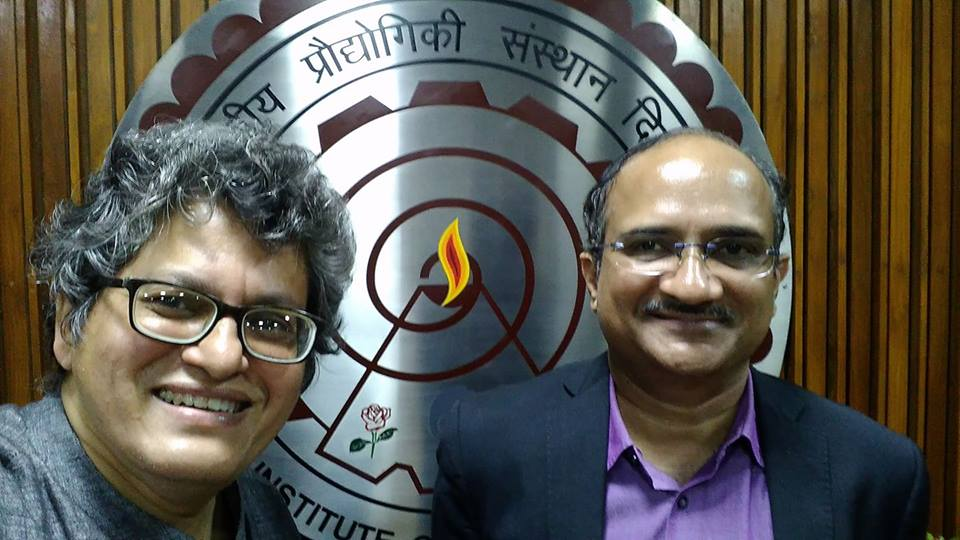 Meeting with Dr. Ramgopal Rao Director IIT Delhi on early November 2017