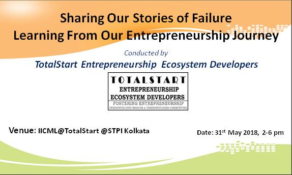Sharing Stories of Failure Workshop 31 May 2018