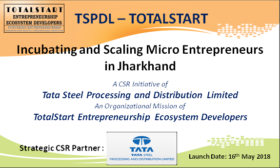 TSPDL-TotalStart EDI - Launch Announcement 16th. May 2018